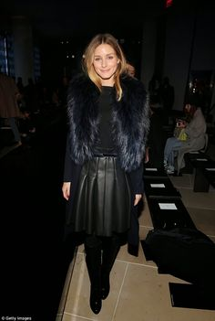THE OLIVIA PALERMO LOOKBOOK: Olivia Palermo At New York Fashion Week: Porsche Design Presentation