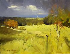 Whoa - definitely that feeling right before or after a storm, when everything gets unnaturally bright. Colley Whisson