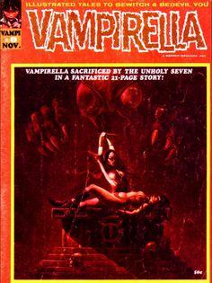 Classic+Comic+Book+vampirelli | Vampirella #8 horror comic magazine from Warren Publishing