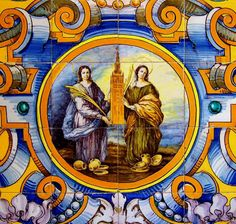 Today, July 19, we celebrate the feast day of Saint Justa (268-287) and Saint Rufina (270-287), virgins of the Church, and martyrs for th...