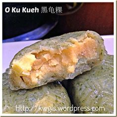 A Steamed Cake That Brings Fond Memories–Black Tortoise Cake or O Ku Kueh (黑龟粿) Asian Cake, Bao Buns, Steamed Cake, Asian Recipes, Ethnic Recipes, Malaysian Food, Glutinous Rice, Rice Cakes, Hot Dog Buns