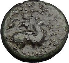 Magnesia ad Maeandrum in Ionia 300BC Horseman Bull Ancient Greek Coin i50584