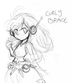 Curly Brace by Alyossan.deviantart.com on @DeviantArt