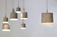 CONCRETE small, big, xl : Verlichting van RENATE VOS product & interior design