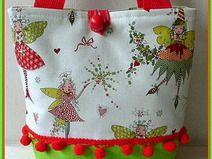 "Kindertasche  Unikat  ""Elfe"" Diaper Bag, Diy Embroidery, Bags, Handmade, Handbags, Elves, Diaper Bags, Mothers Bag, Bag"