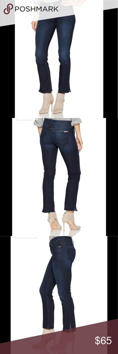 NWT! Hudson Jeans Tilda ankle cigarette jeans NWT! Beautiful! 26 inch inseam. 8 1/2inch front and 11 inch back rise. Size 25 but fits 26/27 with loads of stretch. Ankle slit. Hudson Jeans Jeans Straight Leg