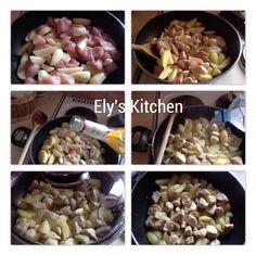 Pollo alle erbe con patate. Se ti piace, seguimi su Pinterest