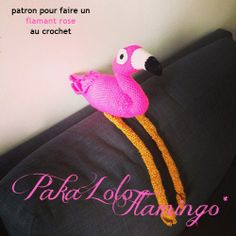 Pakalolo Flamingo - FREE pattern | La Belette Rose