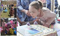 Strangers flock to party for girl, ten, after classmates don't RSVP #DailyMail***THERE ARE GREAT PEOPLE IN THIS WORLD