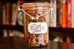 Keep this amazingly addictive, salty-sweet granola for yourself or give it as a holiday gift.