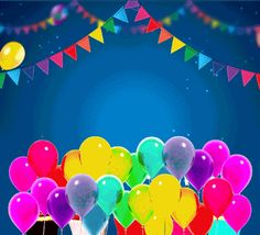 A Special And Colorful Birthday Card. Enjoy your day in heaven ❣️ Happy Birthday Gif Images, Birthday Msgs, Happy Birthday Greetings Friends, Happy Birthday Status, Happy Birthday Ecard, Happy Birthday Wishes Cards, Happy Birthday Celebration, Birthday Card Gif, Animated Happy Birthday Wishes