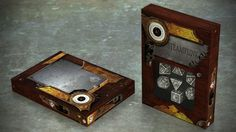 New idea for our steampunk dice box. What do you think?