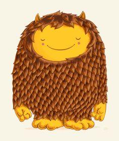 Funny illustrations by Greg Abbott Real Monsters, Cute Monsters, Little Monsters, Monster Sketch, Monster Art, Monster Illustration, Children's Book Illustration, Happy Monster, Greg Abbott