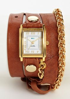 LA MER COLLECTIONS Motor Chain Watch