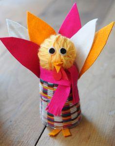 Everyday Fun: Happy Turkey Craft
