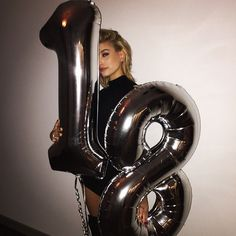 Pin for Later: Why Hailey Baldwin Is Destined to Be the Next Top Model Did we mention she's only 18? She celebrated her Nov. 22 birthday with the likes of the Jenners and Justin Bieber.