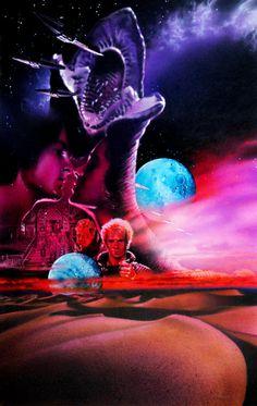 dunequotes:  Dune poster art by Drew Struzan