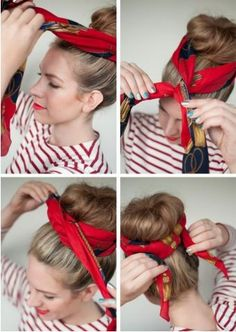 A haj története nyáron óriási drámákon mehet keresztül. Ha megizzadsz a fejedre lapul, ha viszont összefogod, unalmas. A legjobb lehetőség egy kendő, amely csodákra képes.