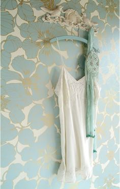Harlequin Passion wallpaper - I fell in love with this image when choosing wallpapers.    Via The French Bedroom Company