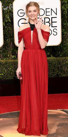 Golden Globe Awards 2016: Arrivals : Natalie Dormer
