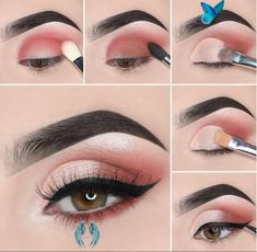 #eye makeup 2019 images #eye makeup age 70 #eye makeup small eyes #eye makeup li...<br> Makeup Eye Looks, Pink Eye Makeup, Dramatic Eye Makeup, Eye Makeup Steps, Simple Eye Makeup, Natural Eye Makeup, Smokey Eye Makeup, Eyeshadow Makeup, Natural Eyeshadow