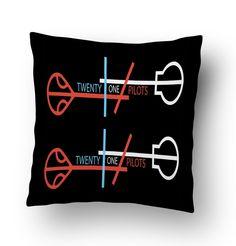Twenty One Pilots Logo 3 Pillow Cover