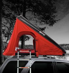 Cascadia Vehicle Tents - Hard Shell Roof Top Tents...very cool.   very expensive