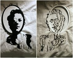 Dean, A Painting With Thread.