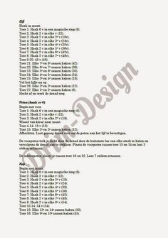Drim-Design Haakwerk: Haakpatroon olifantje Crochet Toys, Bows, Crocheting, Amigurumi, Patterns, Animales, Blue Prints, Arches, Crochet
