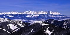 smallest mountain range of Alpine character – High Cool Places To Visit, Places To Travel, High Tatras, Carpathian Mountains, Heart Of Europe, Winter Photos, Central Europe, Bratislava, Mountain Landscape