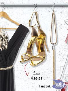 Mooi voor onder de avondjurk of onder een mooie skinny jeans. Zara € 39,95