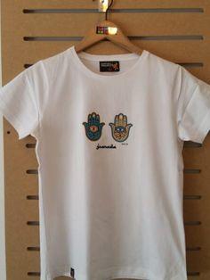 CAMISETA MANOS DE FATIMA Polo Shirt, T Shirt, Polo Ralph Lauren, Mens Tops, Fashion, Fashion Guide, Fatima Hand, Hands, T Shirts