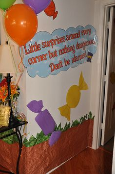 """Photo 20 of 71: Willy Wonka and the Chocolate Factory / Birthday """"Willy Wonka 5th Birthday Party"""" 