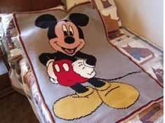 Mickey Mouse Crochet Blanket Pattern Free