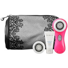 Sephora: Clarisonic : Sweet 15 Skin Cleansing System Set : professional-spa-tools-tools-accessories from Sephora. Sephora, Nails And Beyond, Skin Cleanse, Body Is A Temple, Beauty Must Haves, Sweet 15, Best Face Products, Beauty Products, Fresh Face