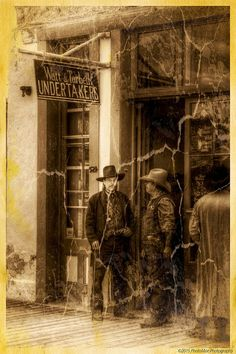 Watt & Tarbell Undertakers - Tombstone, Arizona | by PhotoMoe Photography