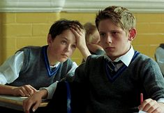 mlminmedia: Jamie Bell & Stuart Wells in Billy Elliot Old School Movies, Old Movies, Jamie Bell, Billy Elliot, Musical Film, School Boy, Pulp Fiction, Sensual, Movies And Tv Shows