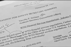 THE CONFIDENTIAL MEMO AT THE HEART OF THE GLOBAL FINANCIAL CRISIS asherthefilm.wordpress.com