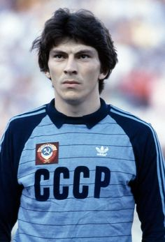 Rinat Dasaev of USSR prior to the FIFA World Cup match between the Soviet Union and New Zealand at La Rosaleda Stadium in Malaga, 19th June 1982. USSR won 3-0.
