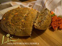 FATTORIA DELLE ERBE - PANE SENZA GLUTINE CON #CALENDULA, NOCI E UVETTE - Bread gluten free with #marigold and walnuts