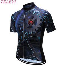 Teleyi 2017 mtb de la bicicleta de secado rápido ciclismo jersey hombres del verano corto clothing ropa bicicleta maillot ciclismo ropa de la bici # dx 18 en Camisetas de ciclismo de Deportes y Entretenimiento en AliExpress.com | Alibaba Group