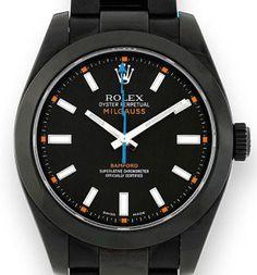 Rolex Milgauss PVD