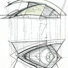 Sketches from the incredible architect/engineer/artist Santiago Calatrava  #ArchiSketcher