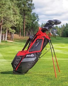 """""""It's intuitively designed, packed with features, and is available in a variety of colors."""" The PING Hoofer is MyGolfSpy's Most Wanted Carry Bag for . Golf Shop, Golf Stores, Ping Golf Bags, Golf Card Game, Dubai Golf, Used Golf Clubs, Callaway Golf, Taylormade, Golf Ball"""