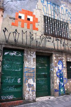 The first electronic games I remember having played Invader Paris, Urban Street Art, Smart Art, Space Invaders, High School Art, Stencil Art, Street Art Graffiti, Mural Art, Chalk Art