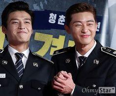 Park Seo Joon and Kang Ha Neul