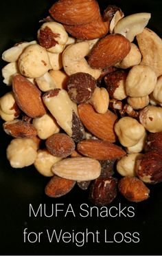 As part of his Day-Off diet, Dr Oz looked at what snacks are best to help you lose weight and burn more fat. He explained what MUFA snacks are and why you need them as part of your diet.