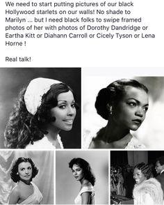 Black Girls Rock, Black Girl Magic, Vintage Black Glamour, Black Actresses, Black History Facts, Black Pride, Black Women Art, My Black Is Beautiful, Black Power