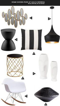 black, white, stripes, gold.