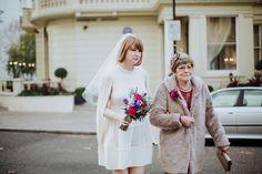 A Miss Selfridge Dress for a Stylish and Unconventional London Wedding | Love My Dress® UK Wedding Blog + Wedding Directory